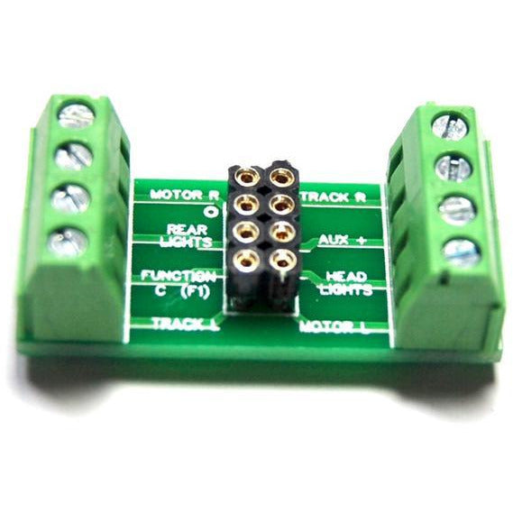 8 Pin DCC Decoder with screw Terminal