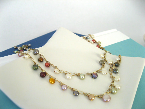 Pearl Opera Necklace