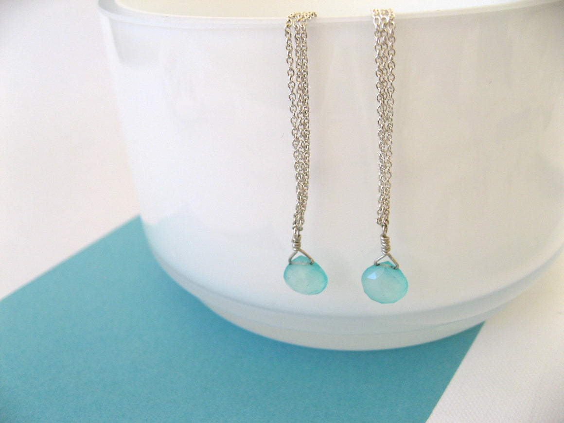 Aqua Beach Earrings