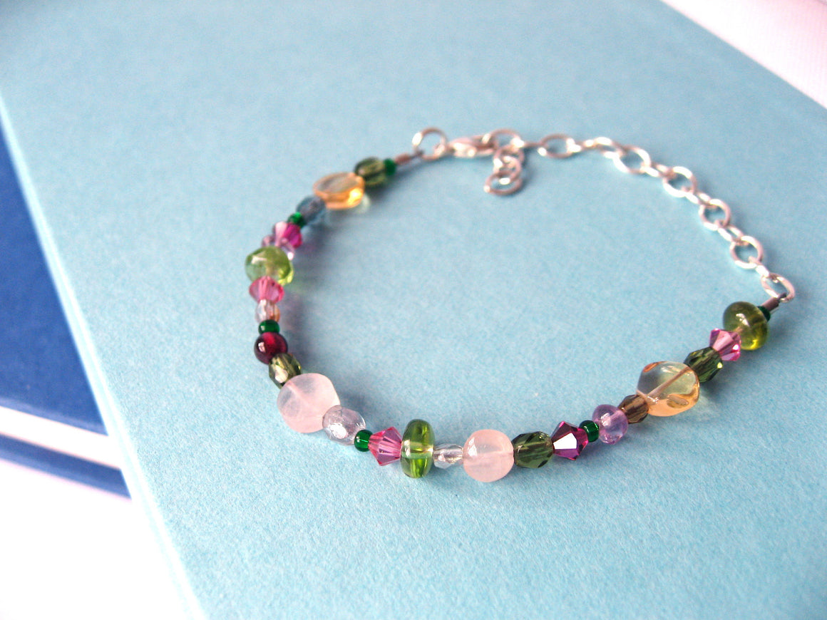 String Along Gemstone Bracelet
