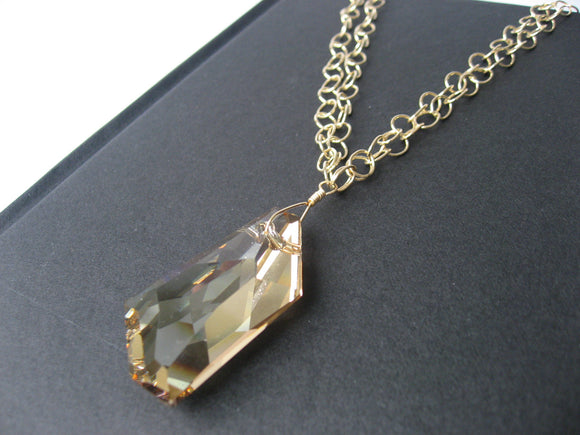 Golden Shadow Necklace