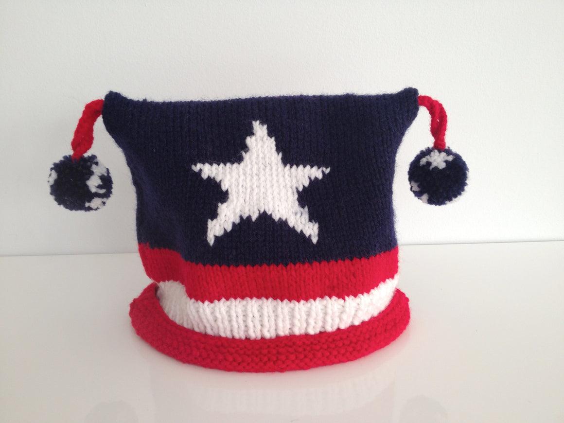 Stars & Stripes Toque - Front