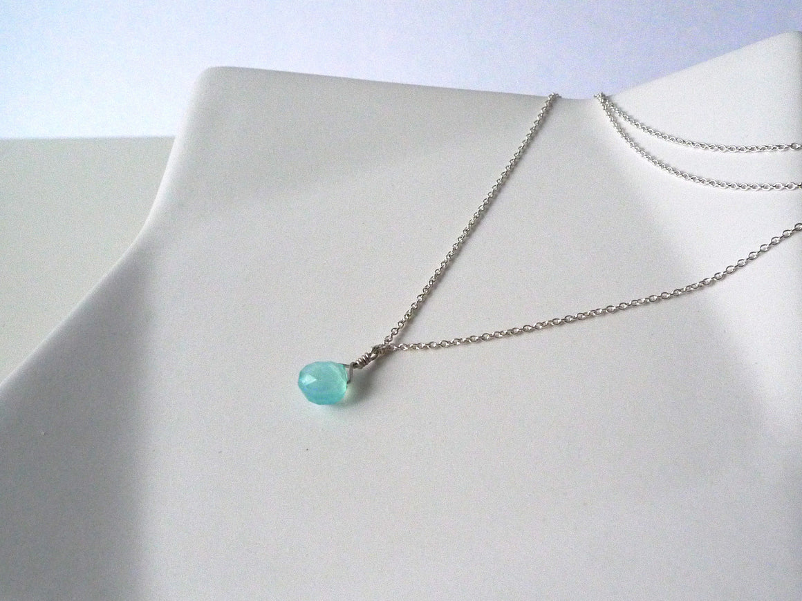 Aqua Beach Layered Necklace