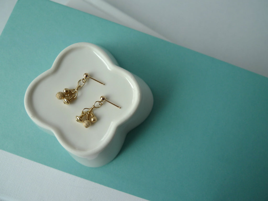 Gold Trio Earrings