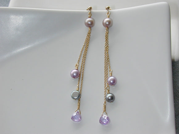 Radiant Orchid Earrings