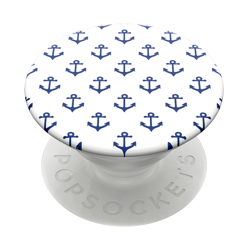 Anchors Away White, PopSockets