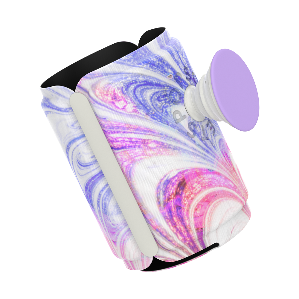PopThirst Can Holder Sunset Swirls, PopSockets