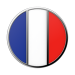 French Flag Enamel, PopSockets