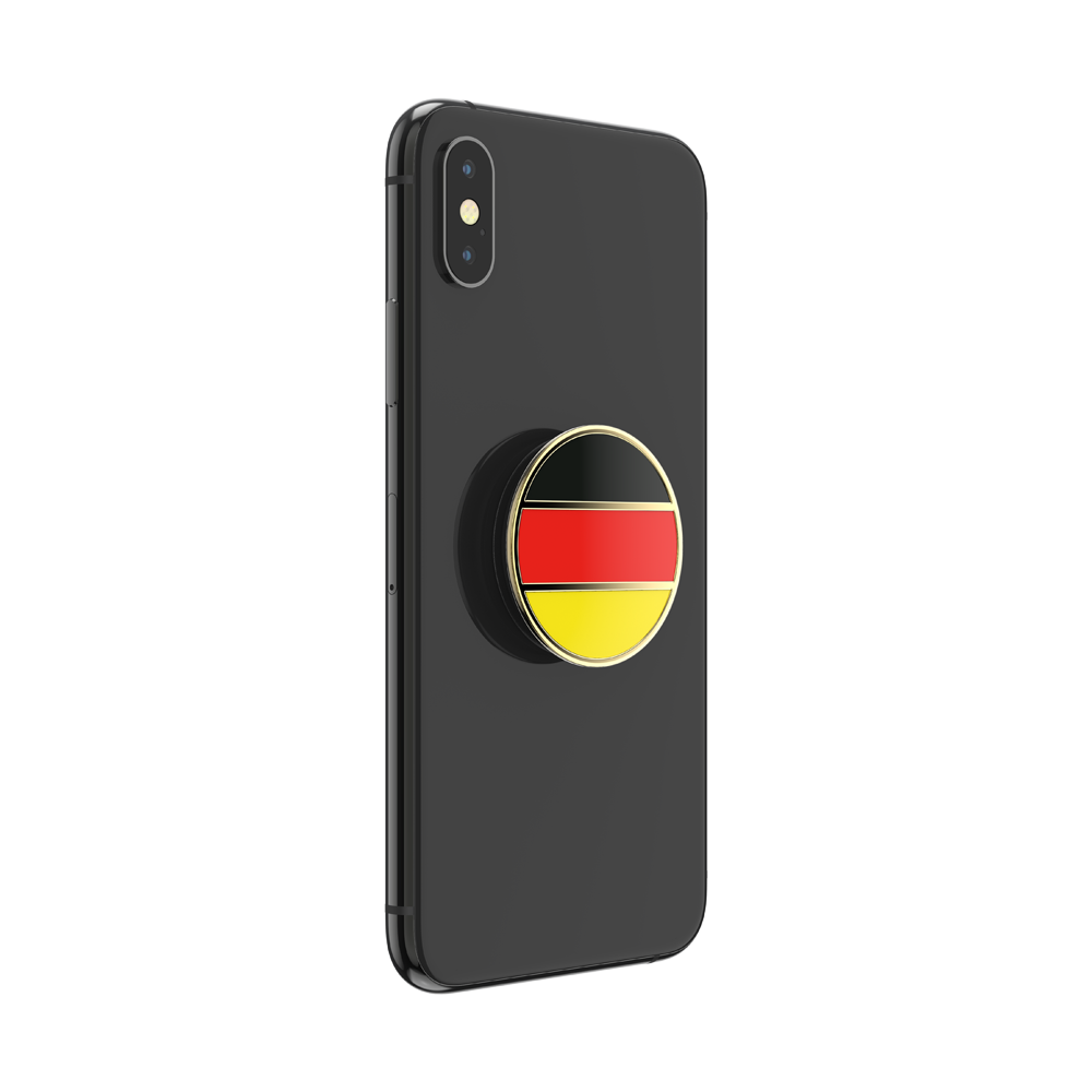 German Flag Enamel, PopSockets