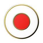 Japanese Flag Enamel, PopSockets