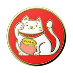 Lucky Cat Enamel, PopSockets