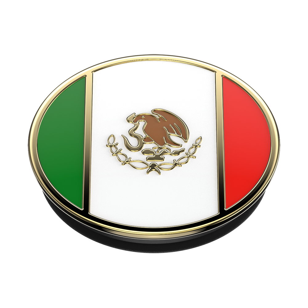 Mexican Flag Enamel, PopSockets