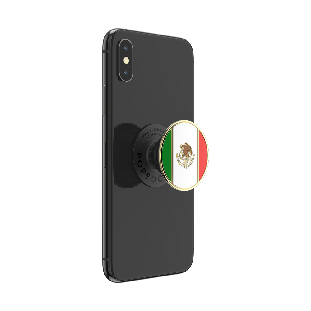 Mexican Flag Enamel
