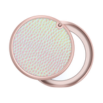 PopGrip Mirror Iridescent Pebbled Blush, PopSockets