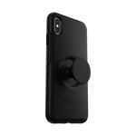 Otter + Pop Symmetry Series Case Black For  iPhone XS Max, PopSockets