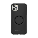 Otter + Pop Symmetry Series Case Black For  iPhone 11 Pro Max, PopSockets
