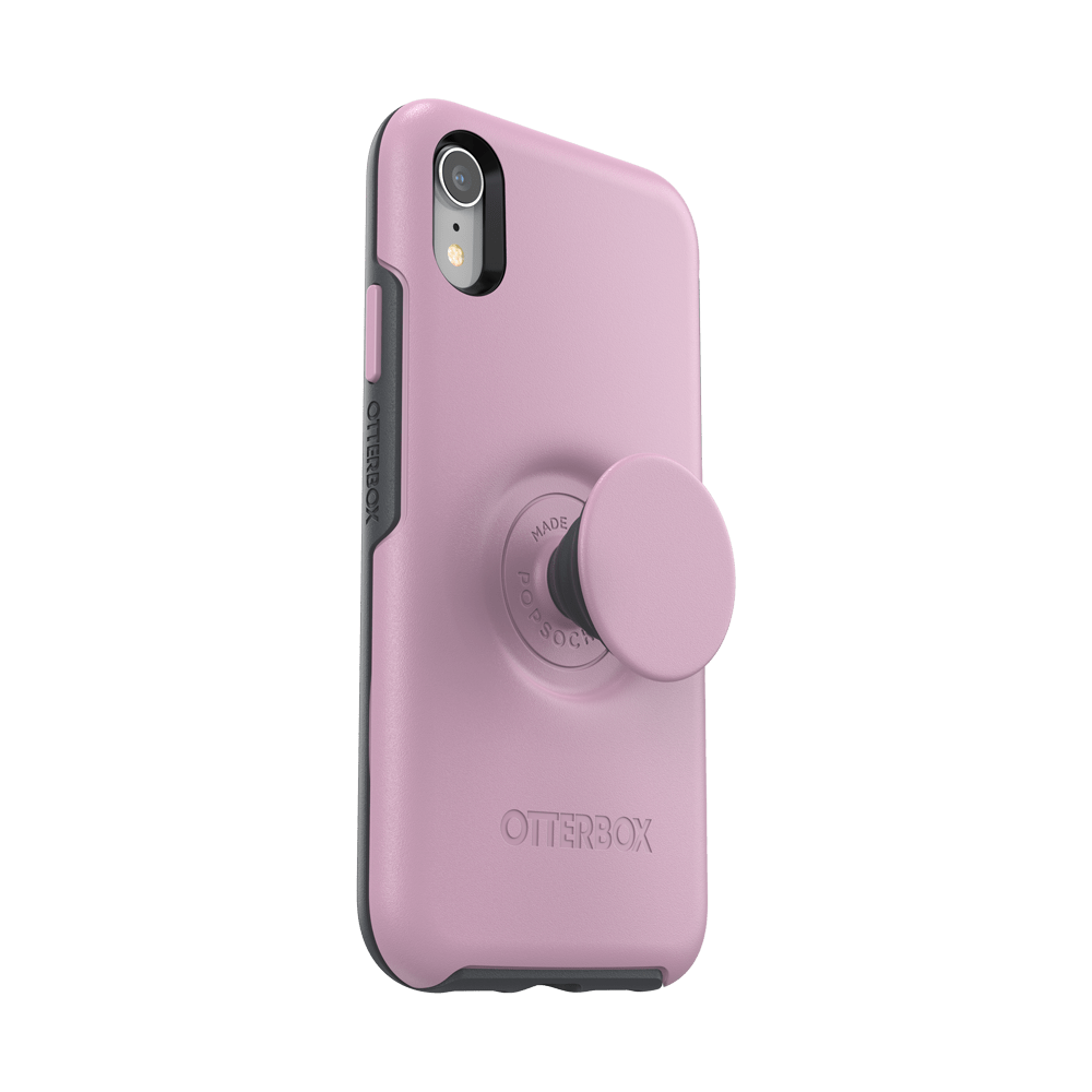 Otter + Pop Symmetry Series Case  Mauveolous For  iPhone XR, PopSockets
