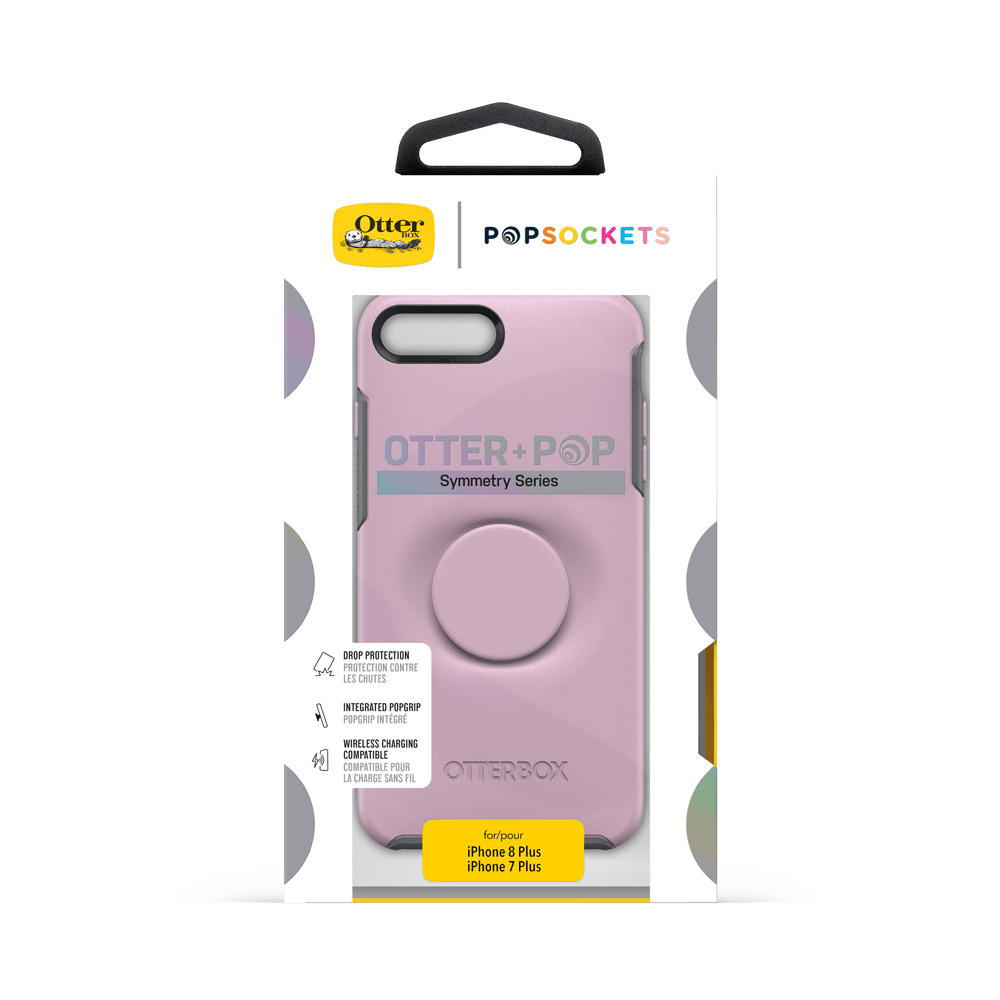 Otter + Pop Symmetry Series Case  Mauveolous For  iPhone 7/8, PopSockets
