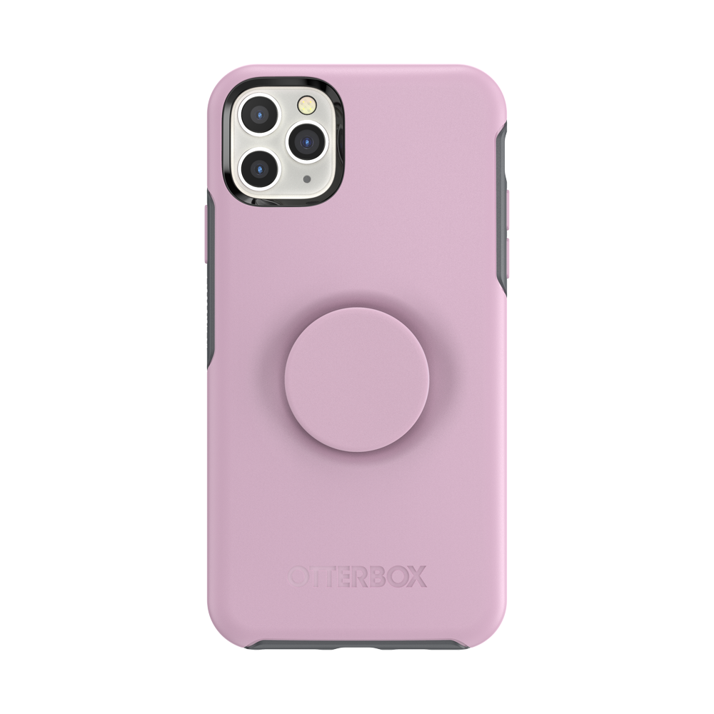 Otter + Pop Symmetry Series Case Mauveolous For  iPhone 11 Pro Max, PopSockets