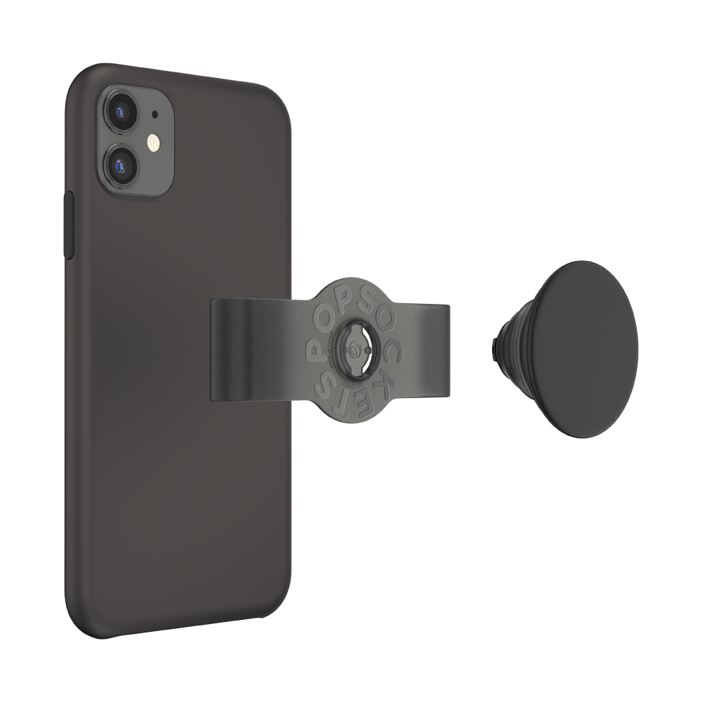 PopGrip Slide Apple iPhone 11/ XR Black, PopSockets