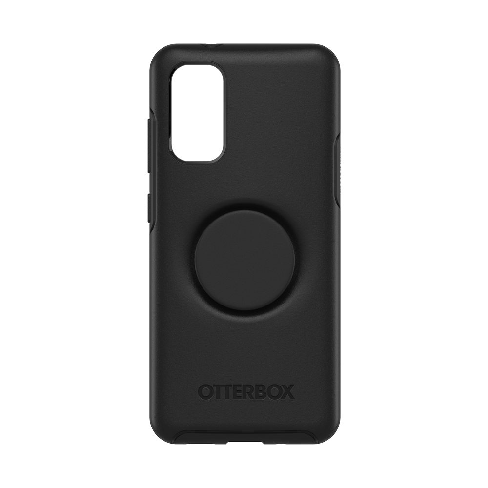 Samsung S20 Plus Otter + Pop Symmetry Series Case Black