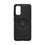 Samsung S20 Plus Otter + Pop Symmetry Series Case Black, PopSockets