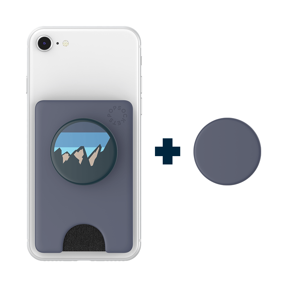PopWallet+ Shadow Blue, PopSockets