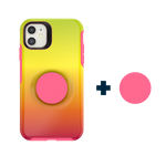 Otter + Pop Symmetry Series Case Island Ombre For iPhone 11, PopSockets