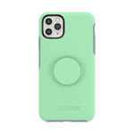 Otter + Pop Symmetry Series Case Mint To Be For iPhone 11 Pro, PopSockets