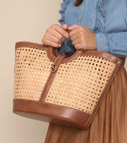 Bali tote bag in Vienna straw
