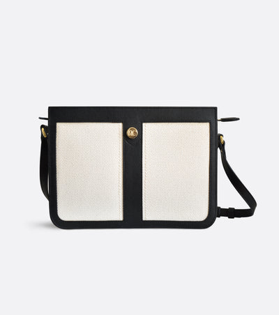 Dune crossbody bag in organic cotton