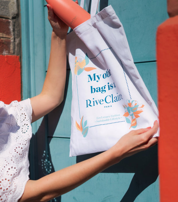 Tote bag RiveClaire en coton éco