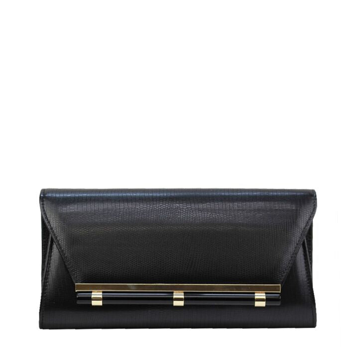 Jendi Linda Clutch in Black