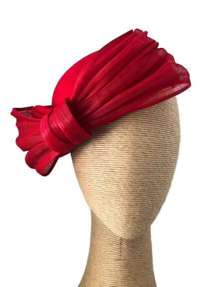 The Fillies Collection Grace Felt Hat with a Bow in various colours