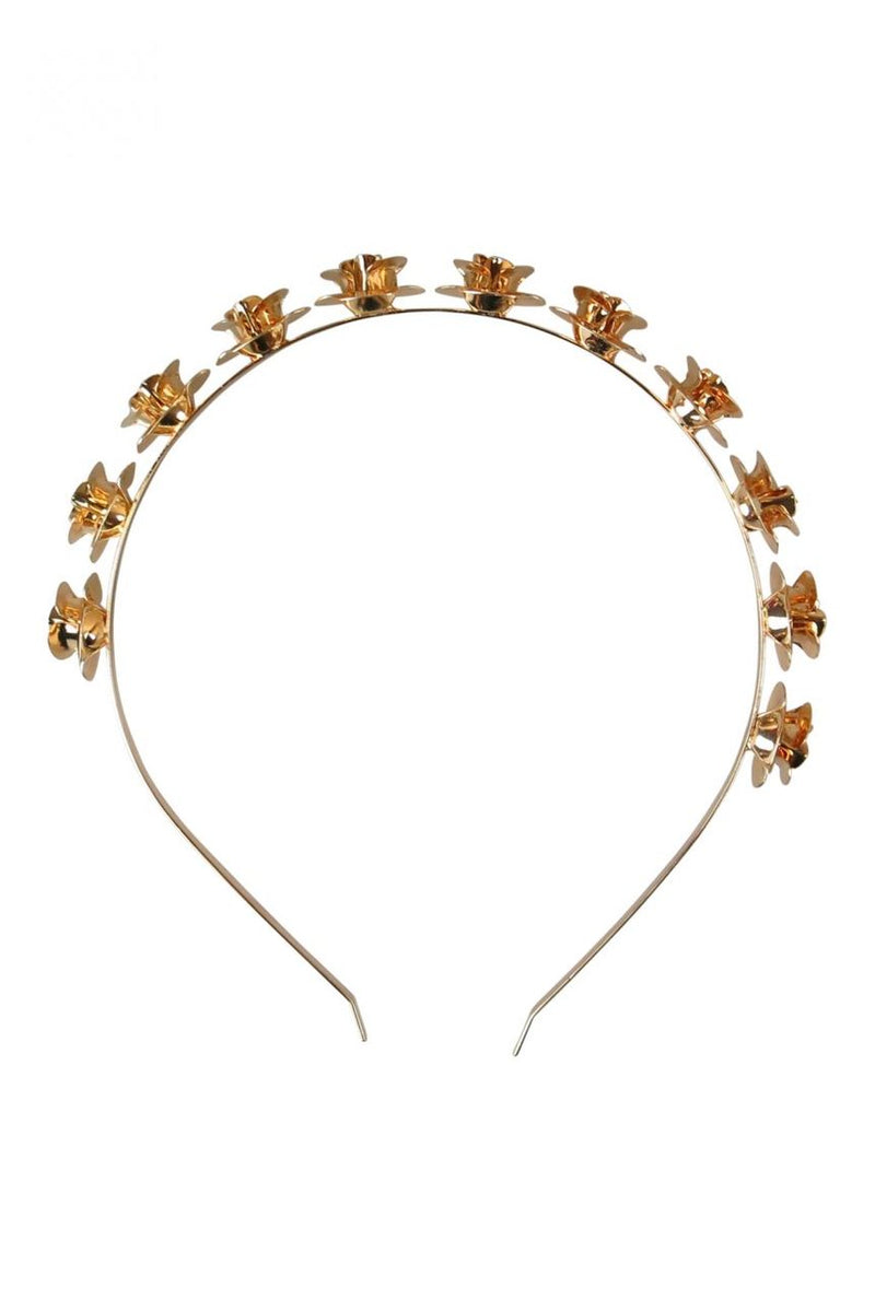 Morgan & Taylor Harmony Golden Rosette Headpiece