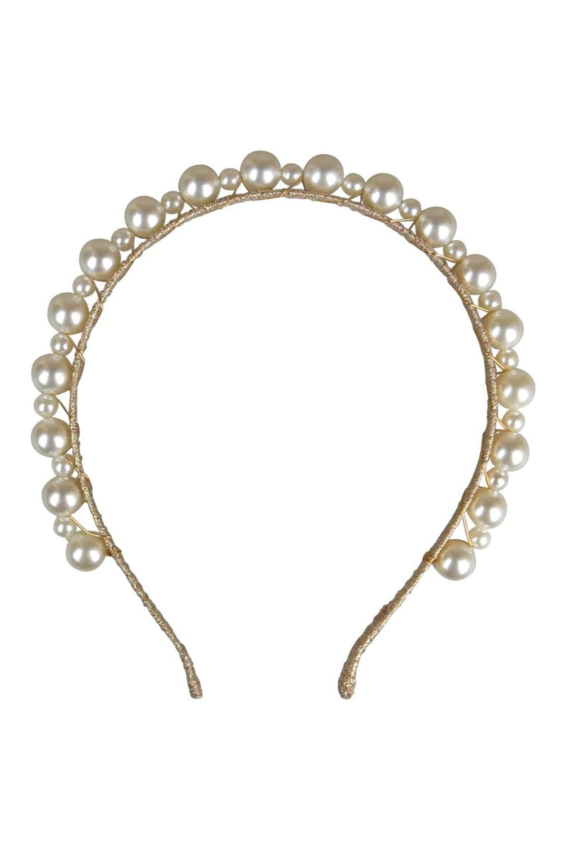 Morgan & Taylor Perla Headpiece in Gold