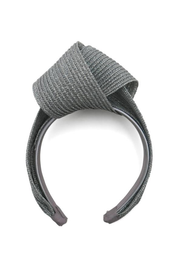 Morgan & Taylor Presley Turban in Silver