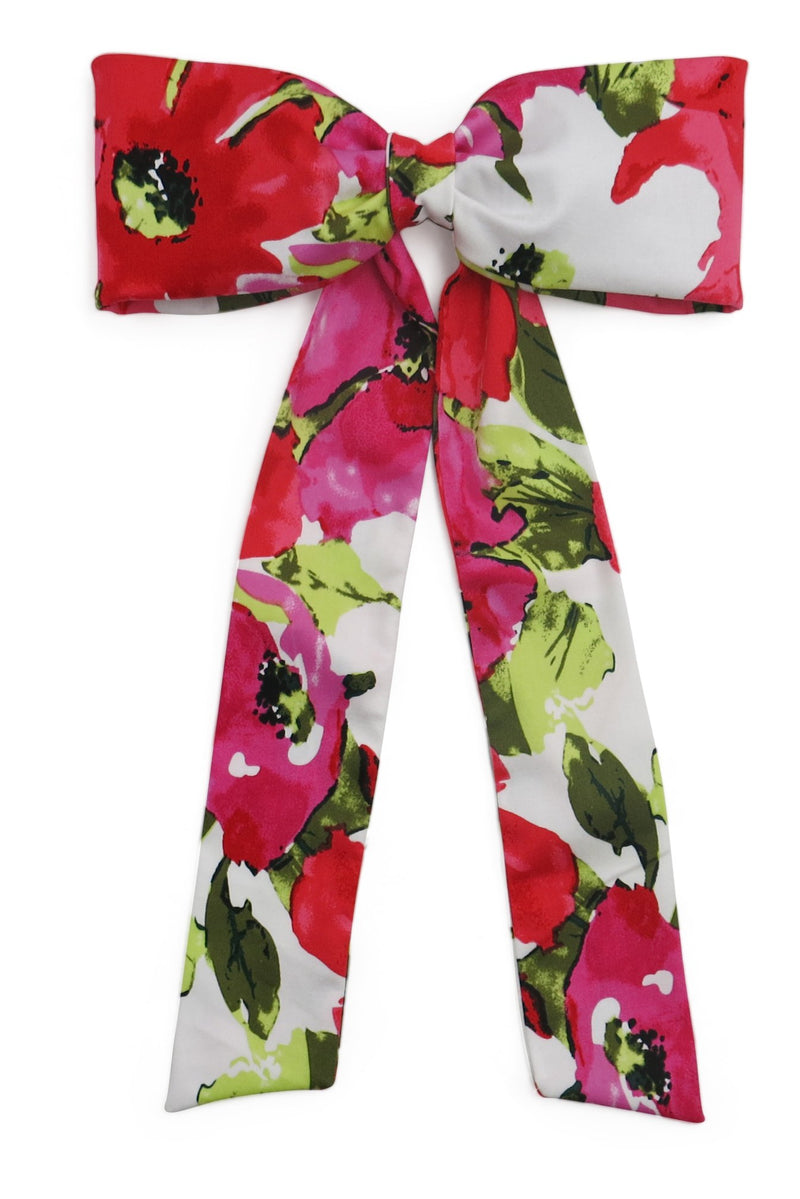 Morgan & Taylor Cassandra Floral Bow on a Clip