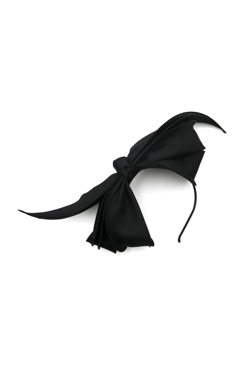Morgan & Taylor Martha Bow Fascinator in Black