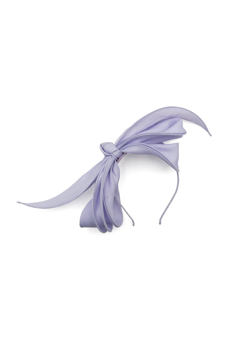 Morgan & Taylor Martha Bow Fascinator in Lilac