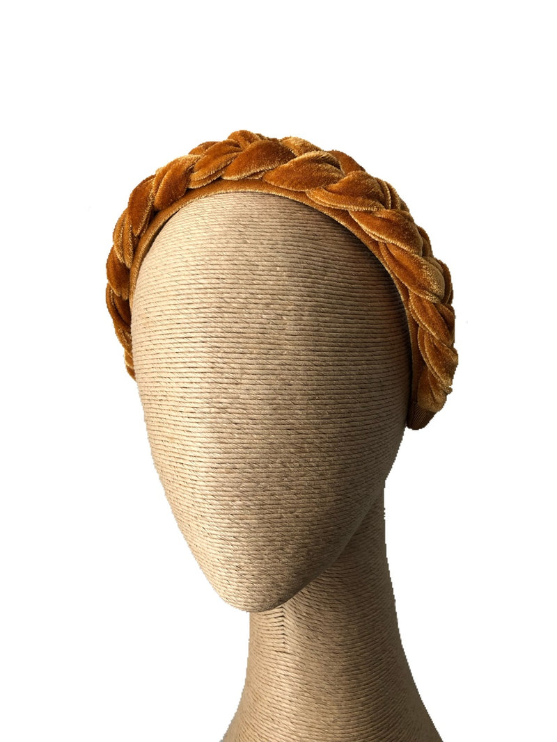 Morgan & Taylor Persia Headband in Honey