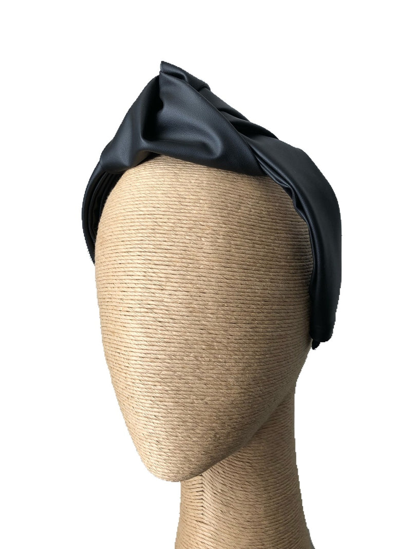 Morgan & Taylor Octavia Turban in Black