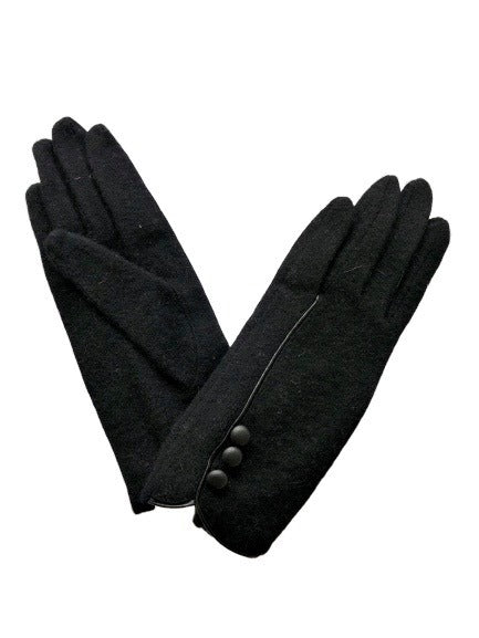 Morgan and Taylor Julia Gloves in Black