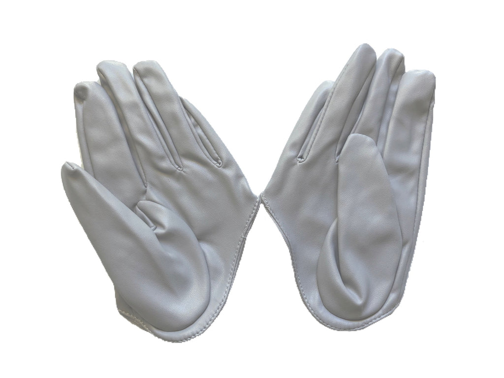 Get Racy Half Palm Gloves in Light Grey