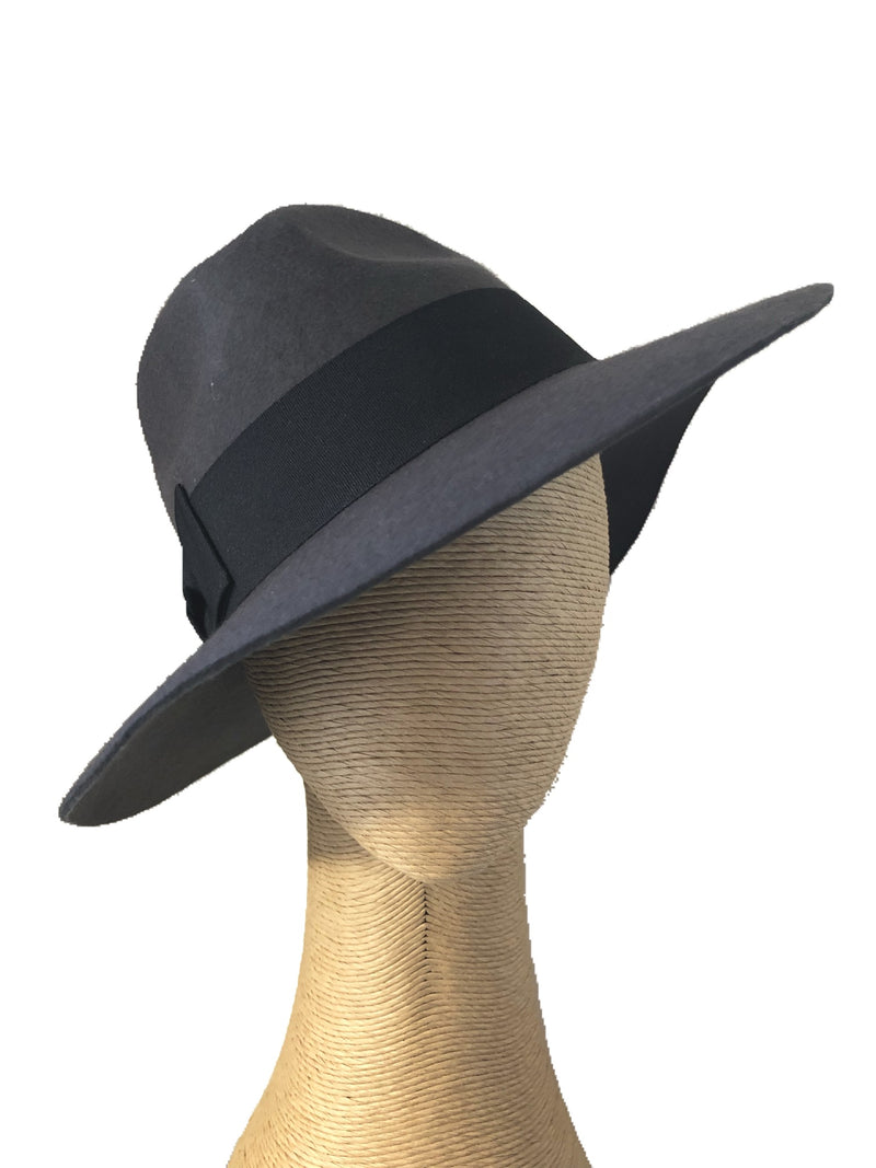 Morgan & Taylor Blanca Fedora in Steel