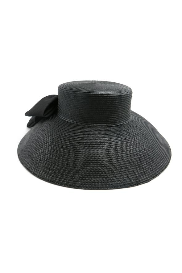 Morgan & Taylor Malika Droop Hat in Black