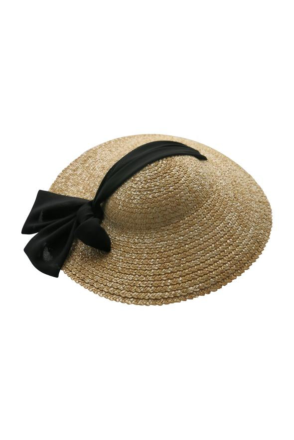 Morgan & Taylor Braelyn Plate Hat in Natural