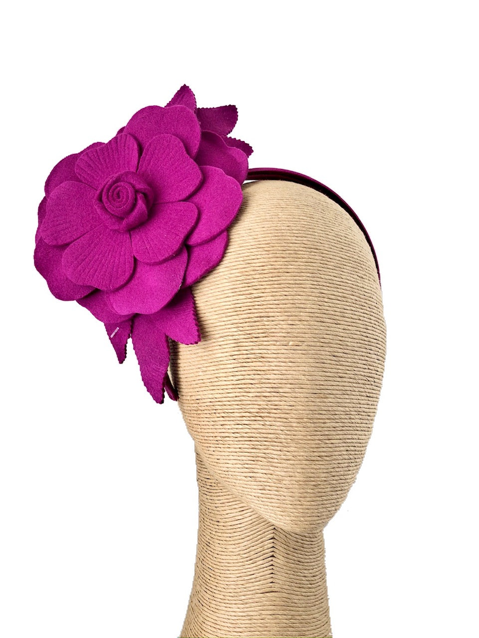Max Alexander Abela Felt Fascinator in various colours