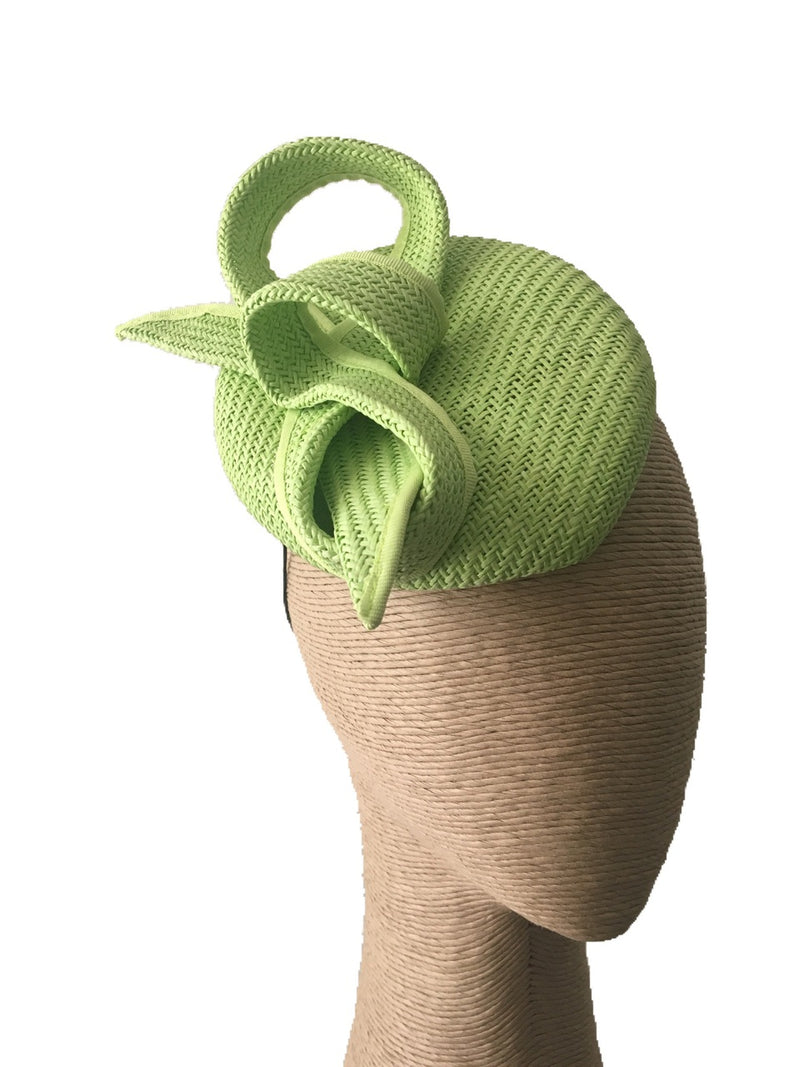Max Alexander Buntal Straw Hat in Lime