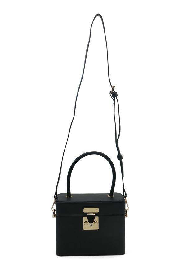 Morgan & Taylor Medina Top Handle Bag in Black